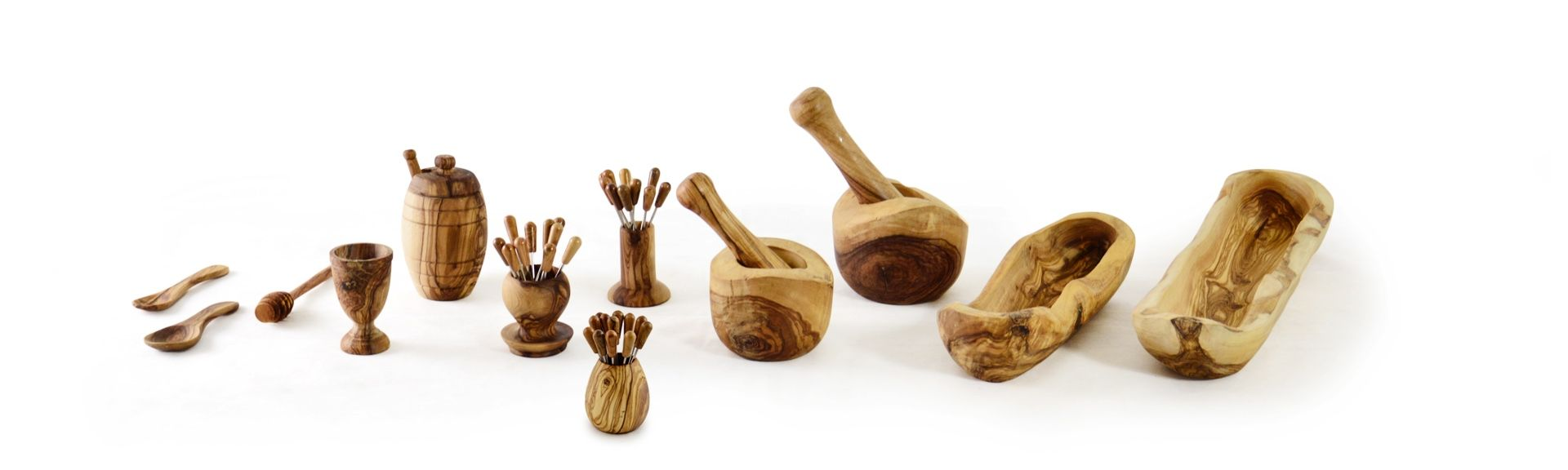 Pure Olive Wood Accessoires